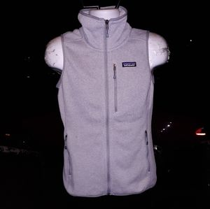Patagonia womens zip up vest size womens small